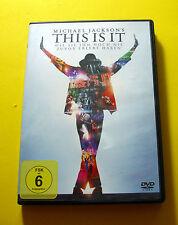 "DVD "" MICHAEL JACKSON - THIS IS IT "" 18 SONGS (BILLIE JEAN)"