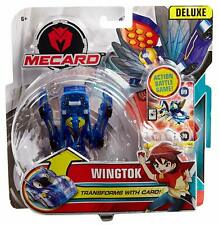 Mecard Wingtok Deluxe - Transforming Robot to Toy Car Kids