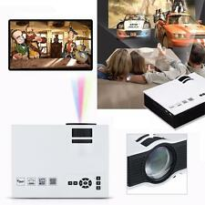 2000lumens 1080P HD LED Mini Home Multimedia Projector HDMI VGA Play USB SD 2016