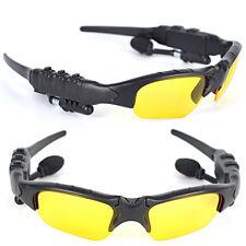 Wireless Sunglasses Talk Music Headset Headphone Micphone-X Sun Glasses