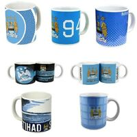 Official Football Club - MANCHESTER CITY MUGS Ceramic (Gift, Xmas, Present)