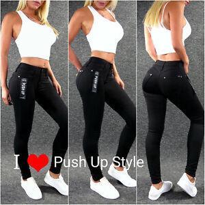 Push Up Stretch Jeans XS S M L XL 2XL 3XL 4XL ZAZOU Skinny Damenjeans H2547