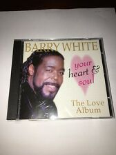 Your Heart e Soullthe Love Album By Barry White (CD,1997,Prism Platinum) Testato