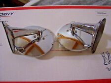 VINTAGE CLASSIC CLASSIC UNIVERSAL CHROME SPORT HOT ROD RATROD SIDE VIEW MIRRORS