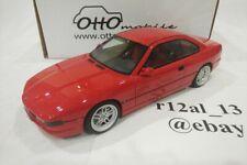 Otto Mobile 1:18 1989 BMW 850 CSI Red OT158
