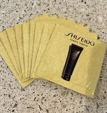 10x Shiseido Future Solution LX Extra Rich Cleansing Foam Sample Pkts 0.03 oz EA