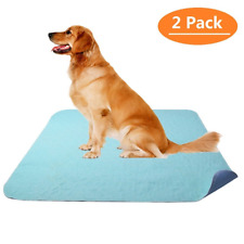 """Washable Pee Pads for Dogs 2 Pack 36"""" x 41"""" Puppy Training Pad by KOOLTAIL"""