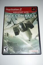 Ace Combat 5 GH (Sony Playstation 2 ps2) w/ Case