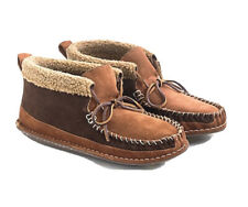 J.Crew Wallace & Barnes Faux-Shearling Chukka Slippers Size 11 New Retail $118