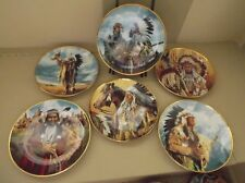 Franklin Mint Collector Plates By Paul Calle~american heritage