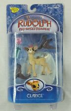 Rudolph The Red Nosed Reindeer Clarice With Christmas Seals, Presents, Base