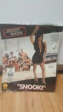 Rubie's Womens Snooki Jersey Shore Halloween Dress Costume Black - Standard
