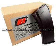 MAG 100round Magazine for AK-74 Airsoft AEG Plasctic Black (5pcs boxset)
