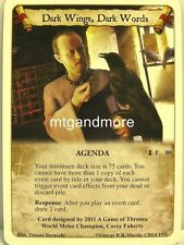 A game of thrones LCG - 1x Dark Wings, Dark words #080 - ancestral home