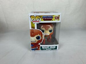 Beast Man Masters of the Universe Pop! Television Vinyl Figure by Funko 539