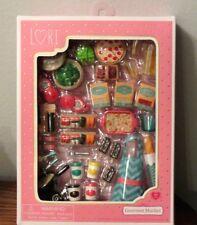 "6"" Lori Doll GOURMET MARKET Play Food Kitchen Cooking Dish set AG NIB"