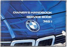 Manual de taller BMW SA 745i South Africa. En inglés (En CD) Workshop Réparation