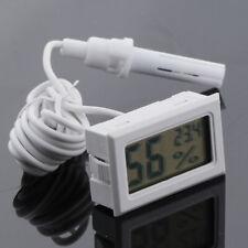 LCD Digital Reptile Terrarium Thermometer & Hydrometer DC1.5V 4.8x2.8x1.5cm