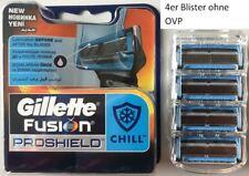 4 Gillette Fusion ProShield Chill Rasierklingen 4 Stück im Blister ohne OVP
