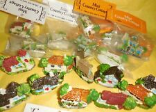 Mini Resin English Country Cottages Fairy Decor