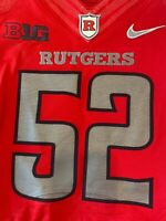 Rutgers Football Game Issued Jersey NIKE Big Ten NCAA F.A.M.I.L.Y. Size 40