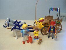 """Playmobil Set 4186 """"Kutsche gelb""""  gebraucht"""