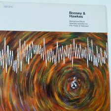 vinyl lp record BOOSEY & HAWKES Background Music Film, Radio, TV,  SBH 3014