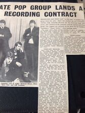 65-2 1966 Article Ramsgate Pop Group The Children Of The Damned Oliver Rose Cole