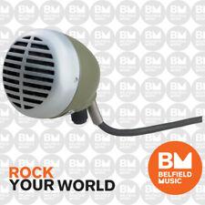 Shure SHR520DX Microphone Dynamic Harmonica Hi-z Green Bullet