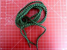 Walking Boot Laces 180cm 5mm Diameter Colour Yellow, Black & Green