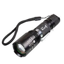 WindFire 2000Lumen 5 Modes Cree T6 XM-L U2 LED Zoomable flashlight 18650 battery