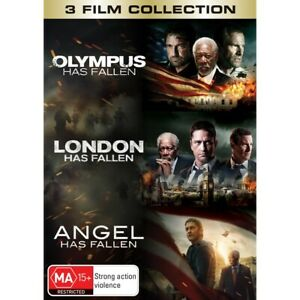 Olympus/London/Angel Has Fallen: 3-Movie Pack DVD
