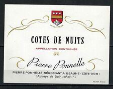 Etiquette de Vin -Bourgogne - Cotes de Nuits - Ponnelle - Never Stuck -Réf.n°229