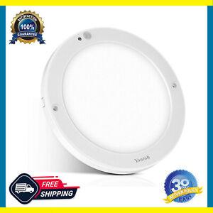 LED Ceiling Light 15W Motion Sensor, Flush Mount Round Light for Indoor/Outdoor