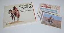 Artist Charles M. Russell Book & (4) Frederic Remington's Old West Lithographs