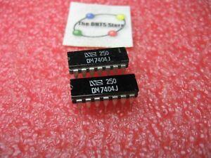 DM7404J National Semiconductor IC TTL Hex Inverter 7404 Ceramic - NOS Qty 2