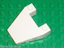 LEGO white wedge ref 4858 / Set 7741 7682 7666 7237 4032 1808 7696 ...