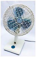 Ventilatore da Tavolo Vintage VORTICE NORDIK 20 Plastica Italy 1987 Funzionante