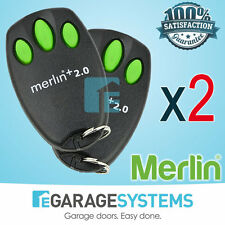 Chamberlain Merlin E945M Garage Door Remote Suits MT100EVO Security +2.0 x2