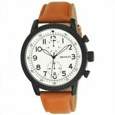 Genuine Henley Men's Fashion Textured Sports White Dial Watch H02182.1