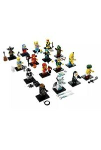 LEGO SERIES 16 MINIFIGURES COMPLETE SET OF 16 ( 71013 )
