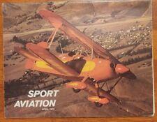 Sport Aviation Magazine April 1976 EAA The Acroduster Valkyrie PL-4A HA-2M