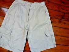 Ladies Cargo Shorts Beige size 10