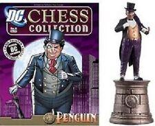 DC CHESS PENGUIN FIGURE in BOX & MAGAZINE #4 Batman Set DC COMICS