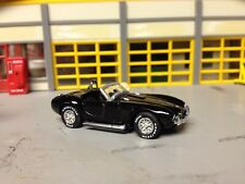 1/64 1960's Shelby Cobra in Black with Blk Int with a 427 Side-Oiler 4 Speed