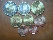 ESPAÑA 2012 SERIE 8 MONEDAS EURO