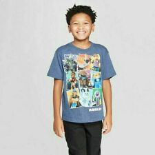 Roblox T-Shirt for Boys in Navy Heather Size M