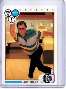 1990 PBA BOWLING CARD #72 ART TRASK