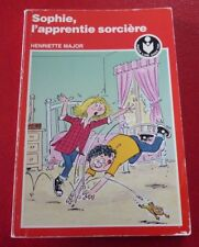 French Cardboard Book Sophie L'apprentie Sorcière ! Henriette Major