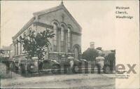 WOODBRIDGE Wesleyan Chapel Methodist Church Postcard Ipswich SUFFOLK Loder, John